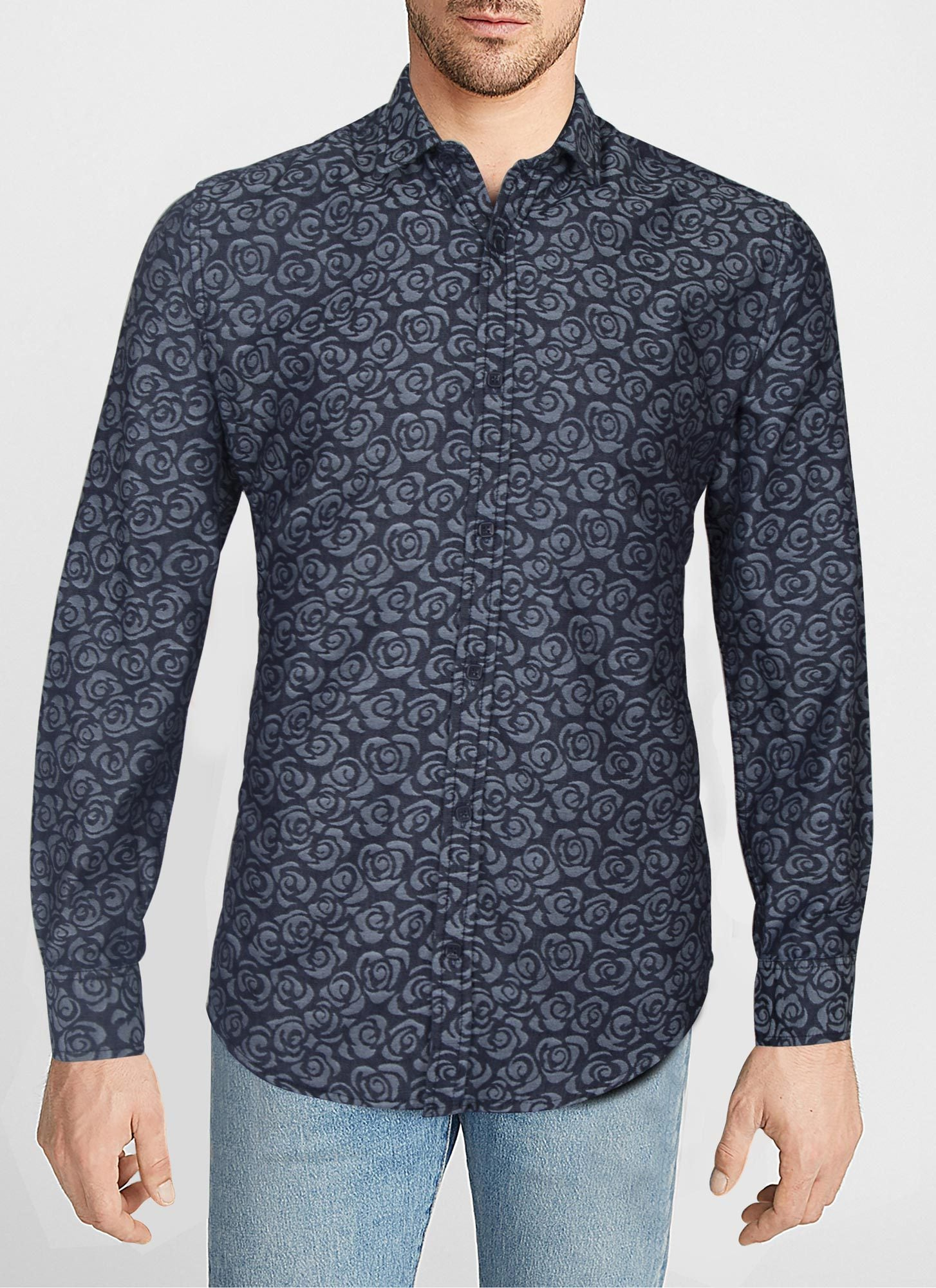 CASUAL SHIRT PRINTED PR19202-NY