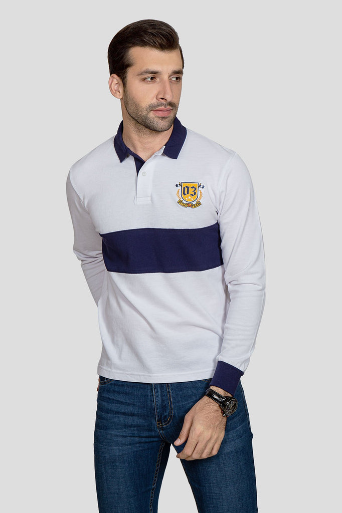 RT POLO SHIRT F/S RA1901-WT
