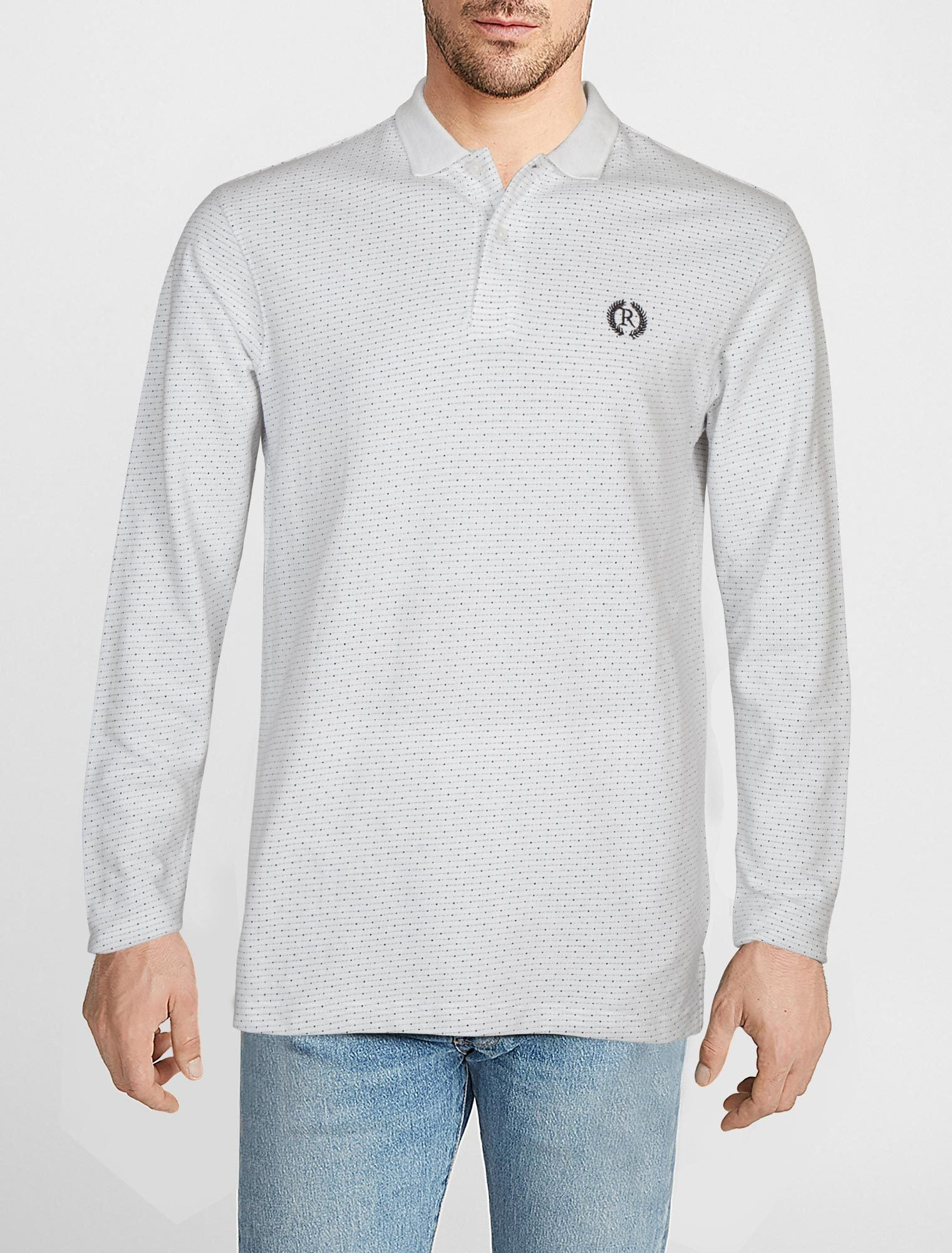 POLO SHIRT F/S RA312-WT