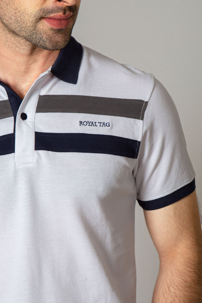 RT POLO SHIRT RA603-WT - M