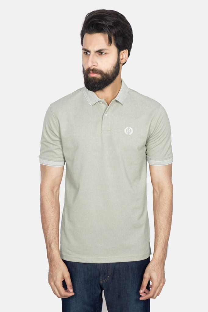 POLO SHIRT RA701-LGR