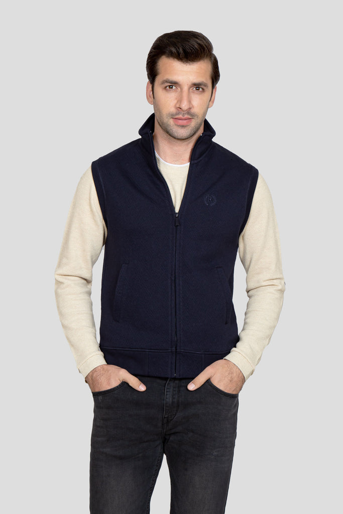 RT Zipper Mock Neck S/L RAM802-NY