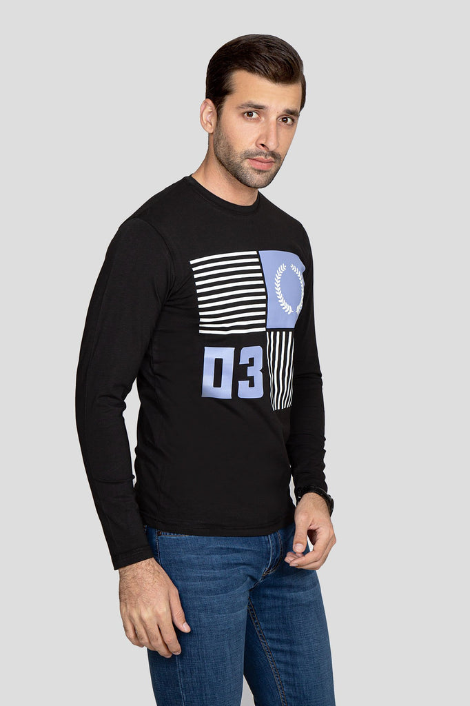 RT ROUND NECK F/S RAN007-BK