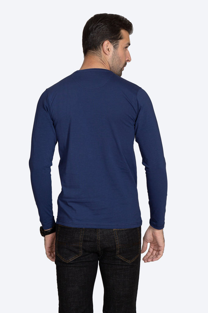 RT ROUND NECK F/S RAN007-BL