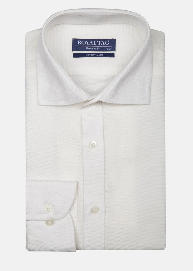 RT DRESS SHIRT TEX RFT20501-WT