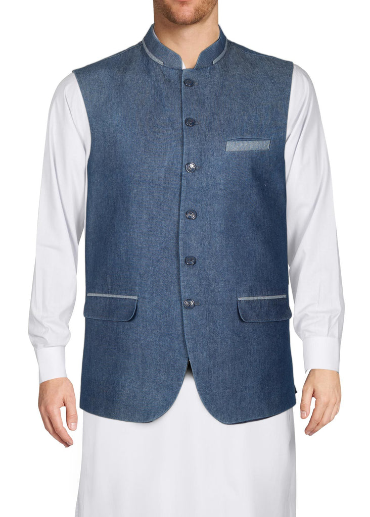 WAIST COAT RWC19607-BL