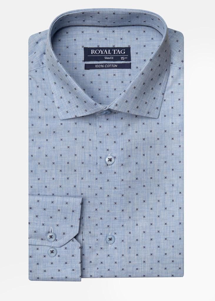 Slim Fit DOT SFD19902-SKY