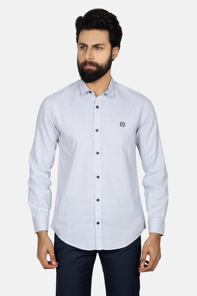 Casual Shirt F/S TEX T19102-WT
