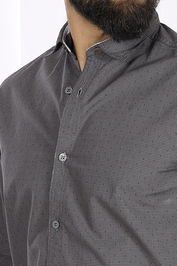 CASUAL SHIRT F/S TEX T19108-DGR