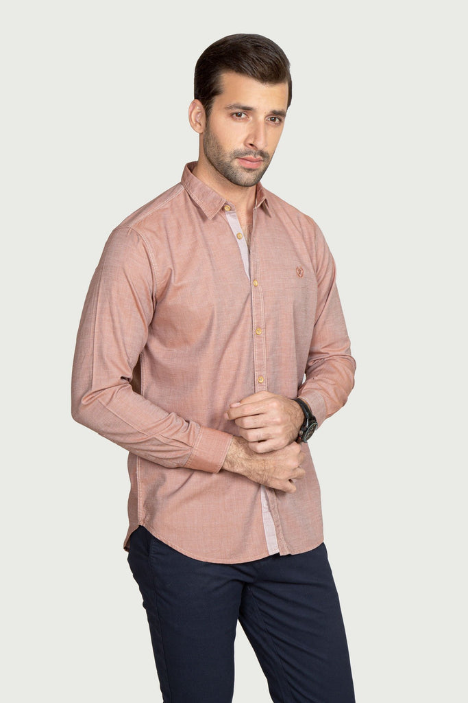 RT Casual Shirt F/S TEX T20801-LBR