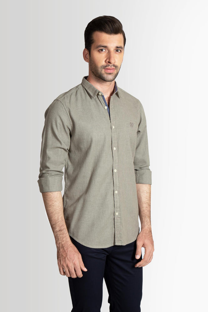 RT Casual Shirt F/S TEX T20805-OL - M