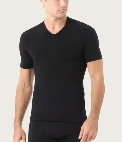 Essential Cotton Stretch V-Neck 2-Pack