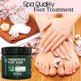 Therapeutic Foot Soak - Dead Sea Salt, Epsom Salt, MSM, Tea Tree Oil & More