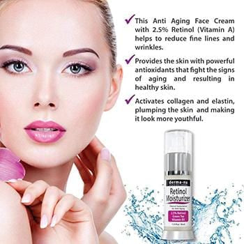 Retinol Serum 2.5% with Hyaluronic Acid