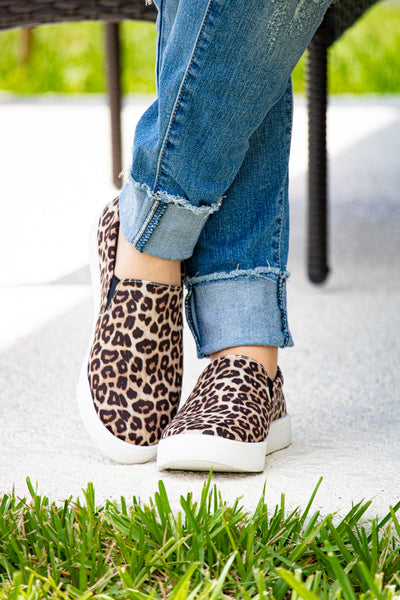 Cheetah Print Slip Ons - Calico's Boutique