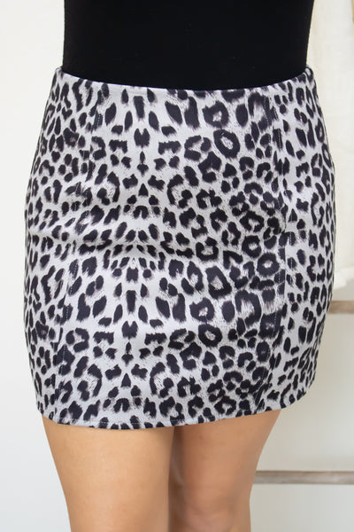 Wild In Love Animal Print Skirt - Calico's Boutique