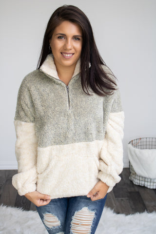 Cozy Me Up Pullover - Calico's Boutique