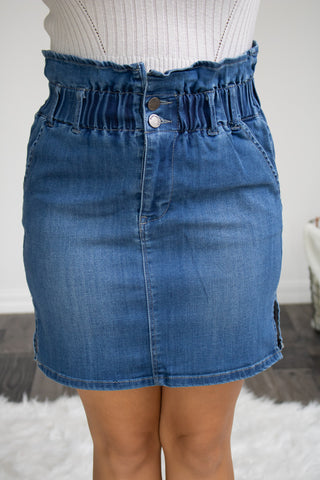 Denim Dreams Skirt - Calico's Boutique