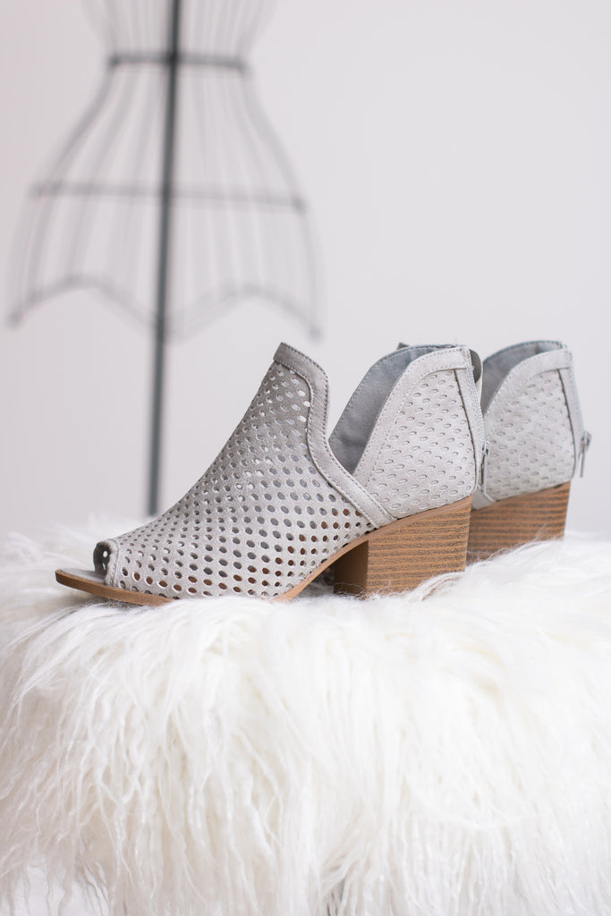 Stepping Out Booties - Calico's Boutique