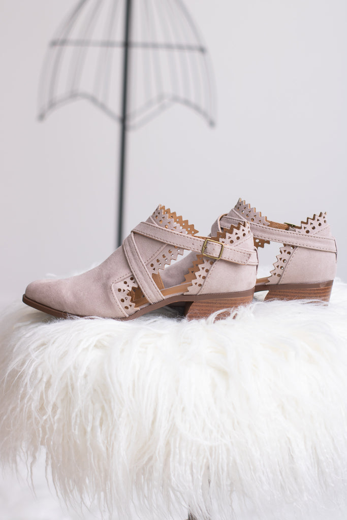 Walk With Me Booties - Calico's Boutique