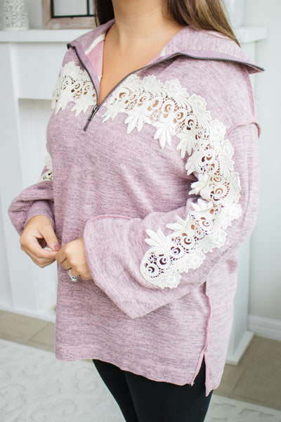 Crochet Bubble Sleeve Pullover