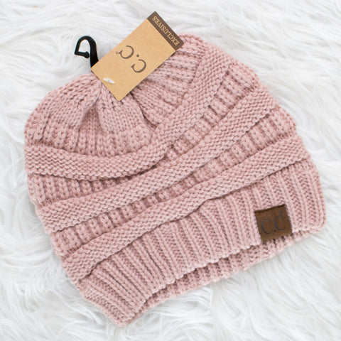 CC Beanie (rose) - Calico's Boutique