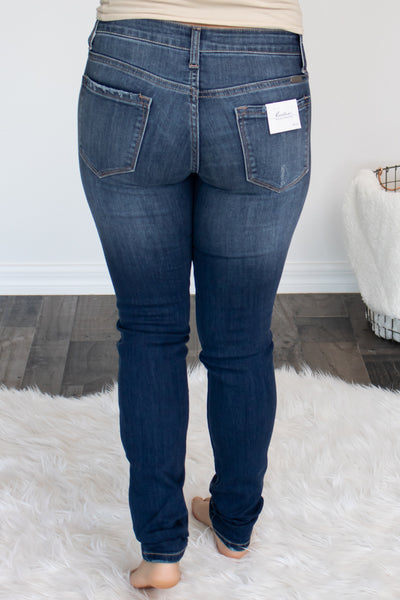 Dark Wash KanCan Skinny Jeans - Calico's Boutique