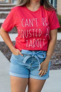 Can't Be Trusted Graphic Top