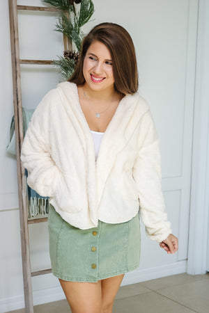 Teddy Jacket (ivory)