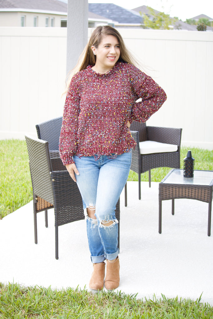 Confetti Sweater - Calico's Boutique