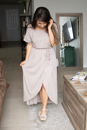 The Everyday Belted Tulip Dress - Calico's Boutique
