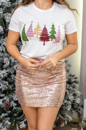 Christmas Trees Graphic Top