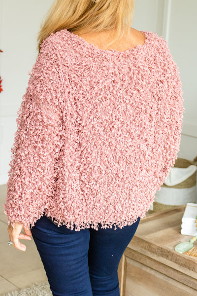 Time To Stand Out Popcorn Sweater