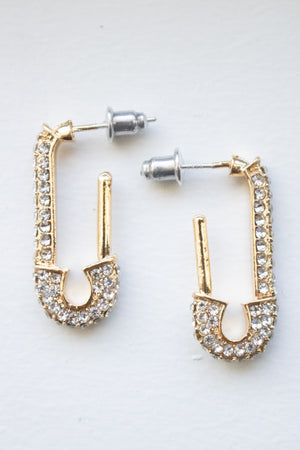 Pin Earrings (gold)