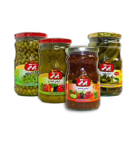 Bartar Pickled Jars