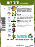 Bee's Friend Seed Packet Back