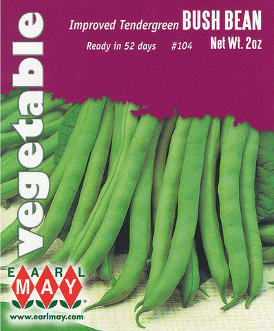 Improved Tendergreen Bush Bean Seeds