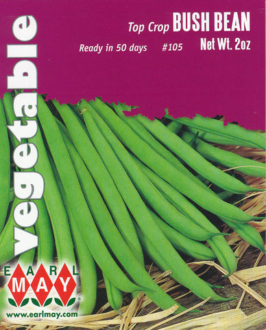 Top Crop Bush Bean Seeds