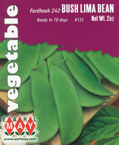 Fordhook 242 Bush Lima Bean Seeds