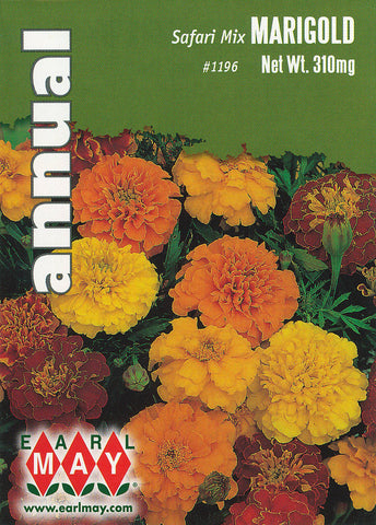 Safari Mix Marigold Seeds