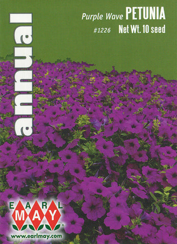 Purple Wave Petunia Seeds