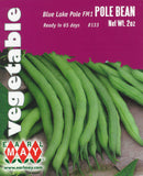 Blue Lake Pole FM1 Pole Bean Seeds