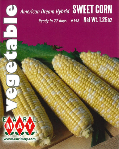American Dream Hybrid Sweet Corn Seed Packet Front