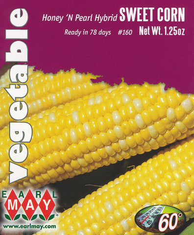 Honey 'N Pearl Hybrid Sweet Corn Seeds