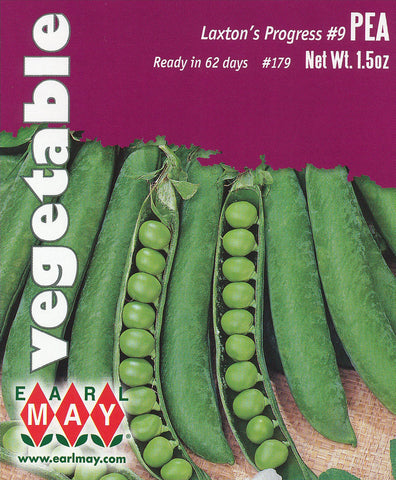 Laxton's Progress #9 Peas Seeds