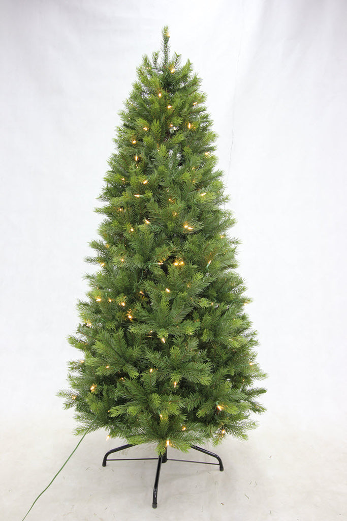 6.5FT Slim Kensington Fir with LED Lights - Ship to Store - Pickup In Store Only