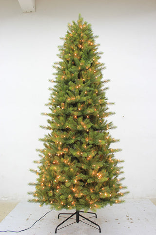 10FT Slim Kensington Fir with LED Lights - Ship to Store - Pickup In Store Only