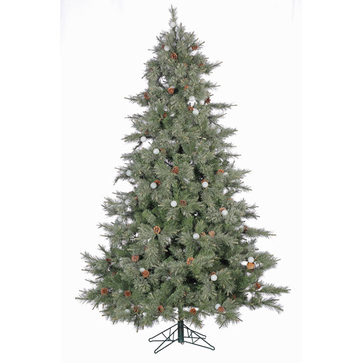 4.5FT Iced Layered Aspen Tree With Staylit Lights - Ship to Store - Pickup In Store Only