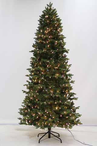 7.5FT Manchester Slim Fir With LED Lights - Ship to Store - Pickup In Store Only
