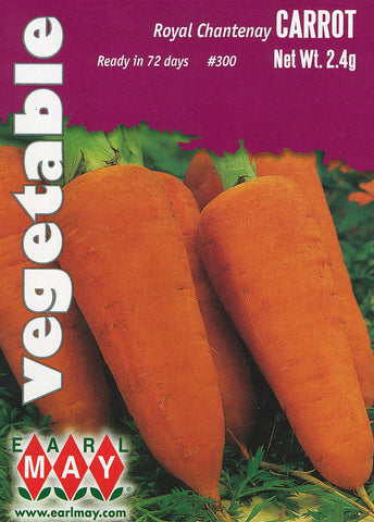Royal Chantenay Carrots Seeds